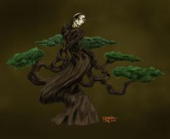 Bonsai creature colored by floopate