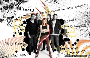 Paramore Wallpaper by ADesignToRemember