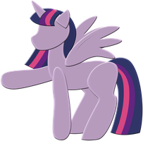 Simple Princess Twilight Sparkle by CassidyPeterson