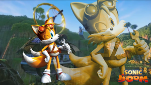 Sonic Boom Tails Wallpaper 2 by Silverdahedgehog06