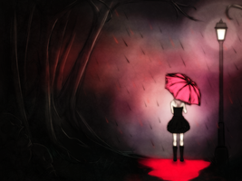 A Pink Umbrella by S3Link