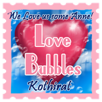 Love Bubble Stamp by LeeAnneKortus