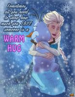 Frozen - A Warm Hug by JakeNova