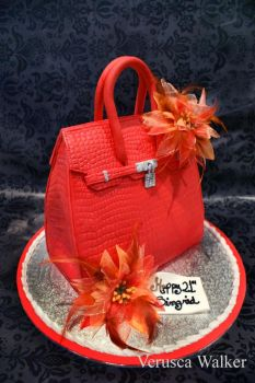 3D Bag Cake by Verusca
