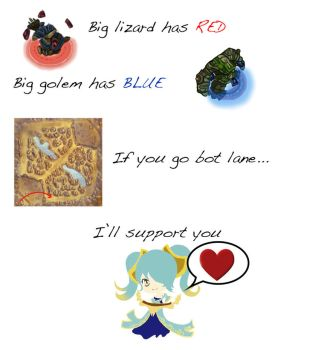 League of Legends Poem by Wickipix