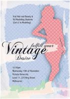 Fulfil your vintage desire WIP by beanarts