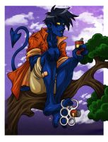 Nightcrawler Color by m-t-copyright
