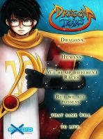Dragon Tears Poster 2 by ExoroDesigns
