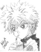 killua by korusaki-feih