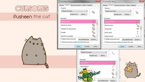 Pusheen The Cat Cursors by Cursorsandmore