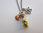 Bottle Beauty Necklace - Olive you by WaterGleam