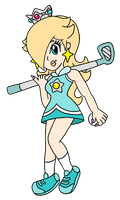 Golf Rosalina - Collab by RafaelMartins