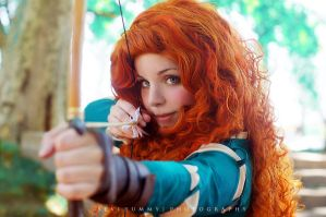 Princess Merida by Thecrystalshoe