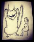 Monster Kitty  by InkyDreamz