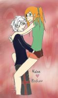 Haine x Badou by andersss