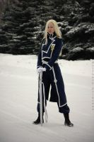 Olivier Armstrong cosplay1 by NorthernPrincess