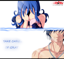 Fairy Tail 395 - Take care of Gray by Uendy