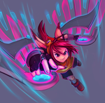 Rin's Glider : OVERDRIVE! by RinTheYordle