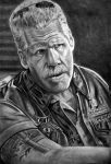 Ron Perlman as Clay by brokenpuppet86