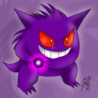 Gengar by SailorBomber
