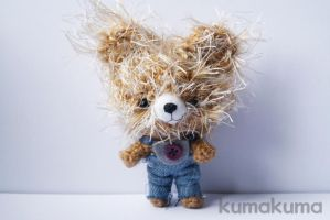 Kawaii Bear amigurumi by kumakumashop