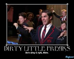 Glee: Dirty little freaks by Kanjimani