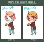 Before and After [Chibi America] by blueoceaneyes101