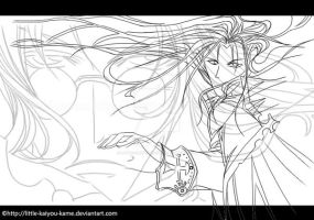 Trinity Blood_lineart by Little-kaiyou-Kame