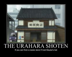 Urahara Shoten by ProfessM