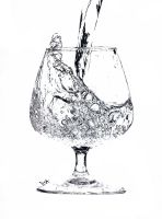 Is glass full or empty? by LisaAnufrieva