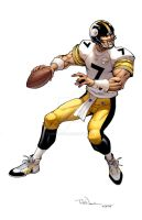 Ben Roethlisberger by ToddNauck
