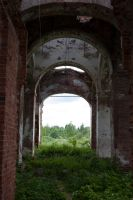 Ruins of a church stock #17 by croicroga