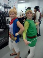 Tetra and Link AAC by BleachcakeCosplay