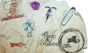 Fantastic Beasts Brushes by OtterAndTerrier