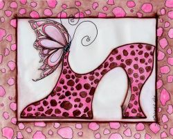 Leopard Print Shoe by concettasdesigns