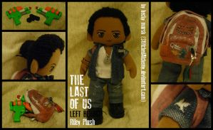 The Last of Us - Left Behind: Riley Plush by StitchedAlchemy