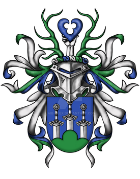 AZP personal Coat of Arms by Aib-Alex