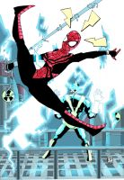 WSM1 Spidergirl vs Electro by future-parker
