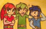 Triforce Links by creativetomboy