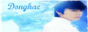 Donghae Blue FB Cover by AriesGoddessofWar