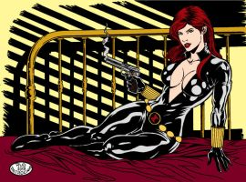 P02  Black Widow By RudPatrocinio by Kenkira