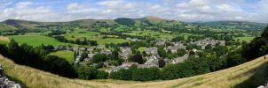View from Peveril Castle by Marnoss