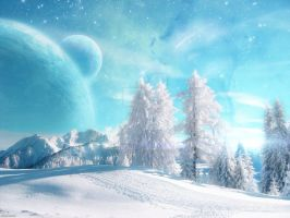 Winter Space by FrameDesigns