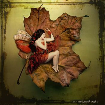 Autumn Fairy by WallflowerImages