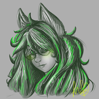 Jade doodle by CherryBuns
