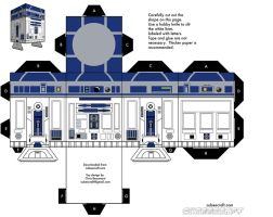 r2 d2 cubeecraft by cubbes
