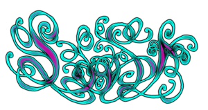 lisa letters 2 color by Chromone