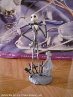 Jack Skellington figurine by rinacat