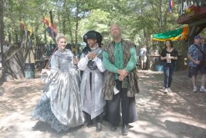 King Richard's Fair, Royalty and the Court Subject by Miss-Tbones