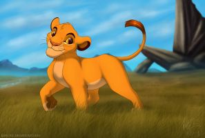 """Cub Simba"" Revisited by KanuTGL"